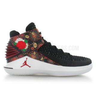 Air Jordan XXXII Chinese New Year Noir Boutique En Ligne