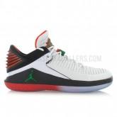 Air Jordan XXXII Low Be Like Mike Blanc Réduction Prix