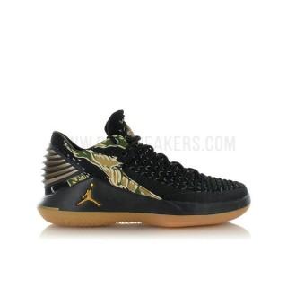 Air Jordan XXXII Low Enfant Camo GS Noir Acheter