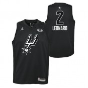 All Star Swingman Jersey Spurs Leonard Kawhi Nba Noir Pas Cher Paris