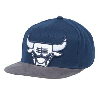 Vente Casquette Chicago Bulls Sneaker Hook Mitchell&Ness Bleu