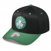 Boutique officielle Casquette Mitchell & Ness Team Logo 2-tone 110 Snapback Boston Celtics Noir
