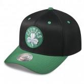 Boutique officielle Casquette Mitchell & Ness Team Logo 2-tone 110 Snapback Boston Celtics Noir