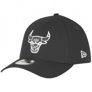 Casquette NBA Monochrome Chicago Bulls New Era Noir Réduction Prix