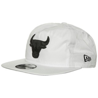 Casquette NBA Premium 9Fifty Chicago Bulls New Era Blanc Moins Cher