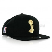 Casquette NBA Trophy New Era 9Fifty Gold Noir En Ligne