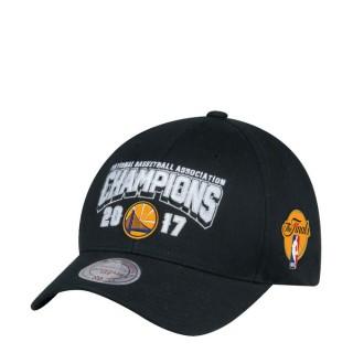 Acheter Casquette NBA Warriors 2017 Final Champs 110 Snapback Mitchell&Ness Noir