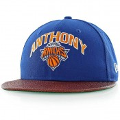 Casquette New Era NBA Players New York Knicks Carmelo Anthony bleu Bleu Paris