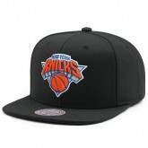 Site Casquette New York Knicks Wool Solid Mitchell&Ness Noir