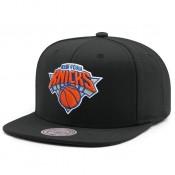 Site Casquette New York Knicks Wool Solid Mitchell&Ness Noir