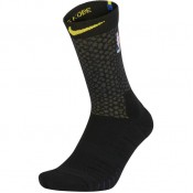 Chaussettes Los Angeles Lakers City Edition Elite Quick Noir Pas Cher Paris
