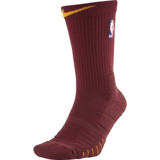 France Chaussettes NBA Elite Quick Crew team university gold Rouge
