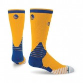 Achat de Chaussettes Warriors NBA On Court Logo Crew Stance Jaune