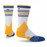 Chaussettes Warriors Stance NBA On Court Core Blanc Promos