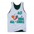 Débardeur NBA All-Star Shawn Kemp West Reversible Mitchell&Ness Blanc Pas Cher Provence