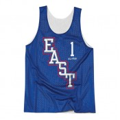 Débardeur NBA All-Star Tracy McGrady 2004 East Reversible Mitchell&Ness Bleu en Promo