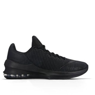 Soldes Homme Nike Air Max Infuriate 2 Low Basketball Shoe/black-anthracite-mtlc Noir