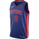 Vente Privée Maillot Andre Drummond Detroit Pistons Icon Edition Swingman Bleu