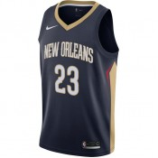 Maillot Anthony Davis New Orleans Icon Edition Swingman Bleu Promos