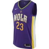 Reduction Maillot Anthony Davis New Orleans Pelicans City Edition Swingman Violet