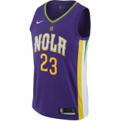 Reduction Maillot Anthony Davis New Orleans Pelicans City Edition Swingman Violet