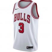 Achetez Maillot Dwyane Wade Chicago Bulls Association Edition Swingman Blanc