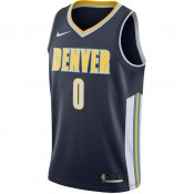 Magasin Maillot Emmanuel Mudiay Denver Nuggets Icon Edition Swingman Bleu Paris
