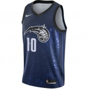 Maillot Evan Fournier City Edition Orlando Magic Swingman Noir Rabais prix