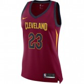 Maillot Femme Lebron James Cleveland Cavaliers Icon Edition Swingman Nike Rouge nouvelle collection