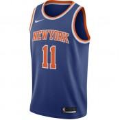 Maillot Frank Ntilikina New York Knicks Icon Edition Swingman Bleu au Meilleur Prix
