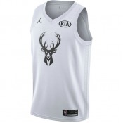 Maillot Giannis Antetokounmpo All-star Edition Jordan Swingman Blanc Escompte En Lgine