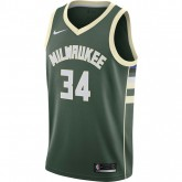 Maillot Giannis Antetokounmpo Milwaukee Bucks Icon Edition Swingman Vert Promo prix