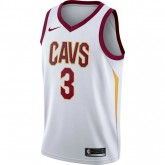 Boutique Maillot Isaiah Thomas Cleveland Cavaliers Association Edition Swingman Blanc Paris