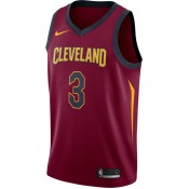 Nouveau Maillot Isaiah Thomas Cleveland Cavaliers Icon Edition Swingman Rouge
