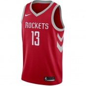 Maillot James Harden Houston Rockets Icon Edition Swingman Rouge soldes