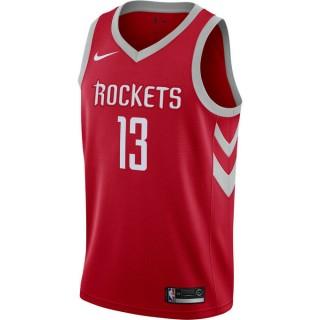 Maillot James Harden Houston Rockets Icon Edition Swingman Rouge soldes