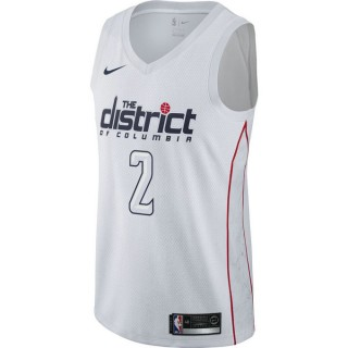Maillot John Wall Washington Wizards City Edition Swingman Blanc original
