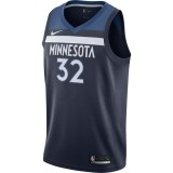 Maillot Karl-anthony Towns Minnesota Timberwolves Icon Edition Swingman Bleu Pas Cher