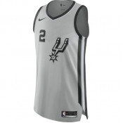 Maillot Kawhi Leonard san Antonio Spurs Statement Edition Authentic Gris Magasin Lyon