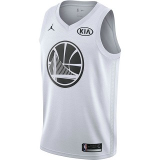 Promotions Maillot Kevin Durant All-star Edition Swingman Jordan Blanc