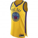 Achat Maillot Kevin Durant City Edition Golden State Warriors Authentic Jaune