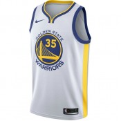 Soldes Maillot Kevin Durant Golden State Warriors Association Edition Swingman Blanc