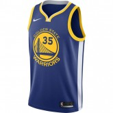 Nouvelle Maillot Kevin Durant Golden State Warriors Icon Edition Swingman Bleu
