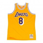 Maillot Kobe Bryant LA Lakers 1996-97 Authentic Mitchell&Ness Domicile Jaune Site Officiel France
