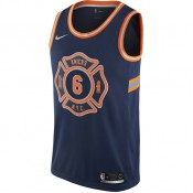 Magasin Maillot Kristaps Porziņģis New York Knicks City Edition Swingman Bleu