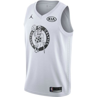 Maillot Kyrie Irving All-star Edition Jordan Swingman Blanc Pas Chere