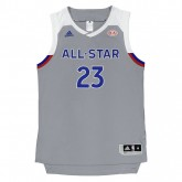 Maillot LeBron James All Star 2017 Replica adidas Gris Europe