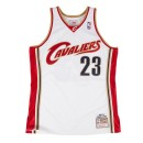Maillot LeBron James Cleveland Cavaliers 2003-04 Authentic Mitchell&Ness Domicile Blanc Lyon