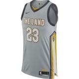 Maillot Lebron James City Edition Authentic Cleveland Cavaliers Noir Site Officiel