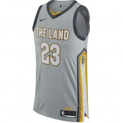 Maillot Lebron James City Edition Authentic Cleveland Cavaliers Noir Site Officiel